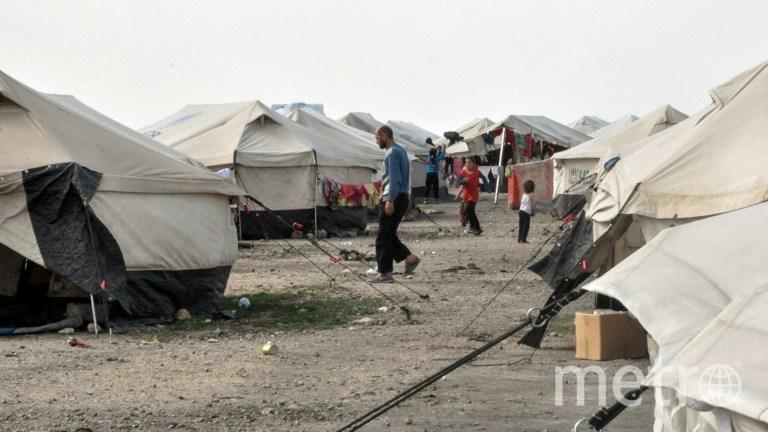 Лагерь в Сирии. Фото AFP