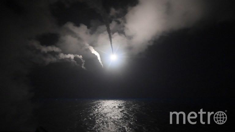 Ракетные удары по Сирии. Фото AFP