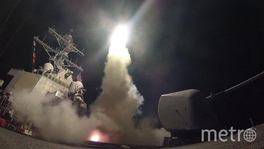 Ракетный удар США по Сирии. Фото Getty