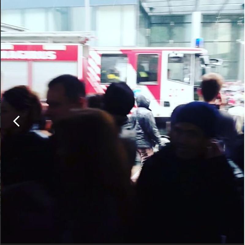 Эвакуация. Фото скриншот Вконтакте