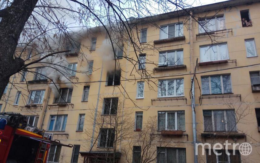 Впроцессе пожара вквартире наДачном проспекте погибла женщина