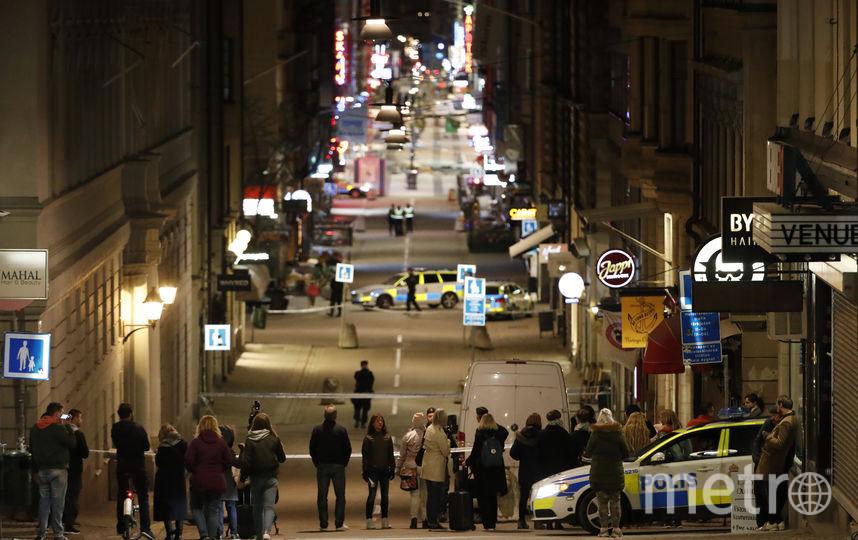 Вгрузовике, протаранившем толпу людей вСтокгольме, найдена взрывчатка