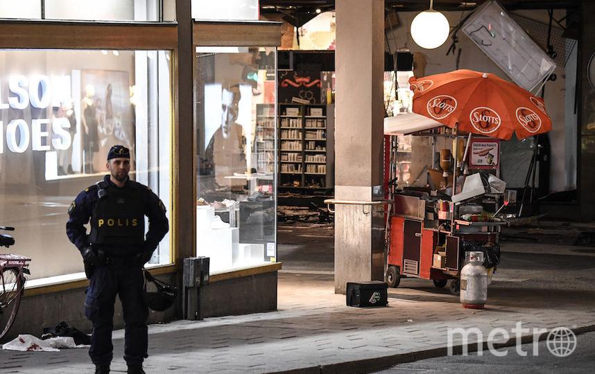 Вгрузовике была взрывчатка— Теракт вСтокгольме