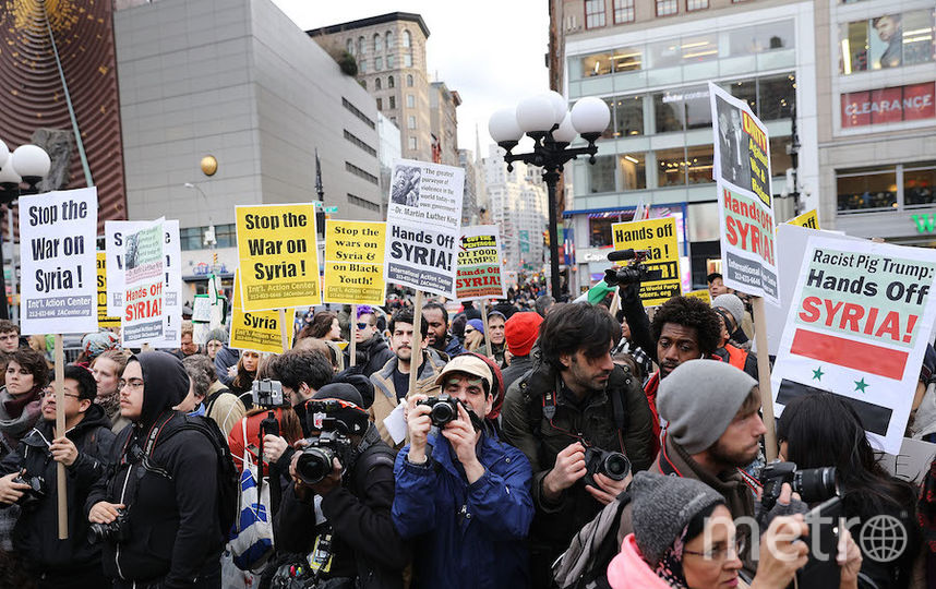 Акции протеста в США. Фото AFP