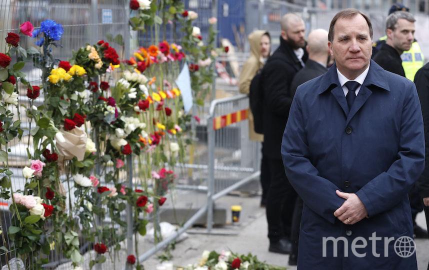 Глава правительства Швеции Стефан Лёвен. Фото AFP