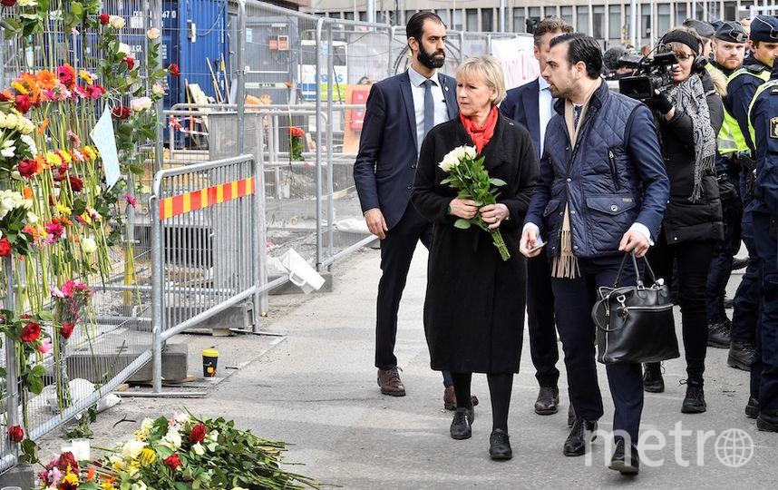 Глава МИД Швеции Маргот Валльстрём. Фото AFP