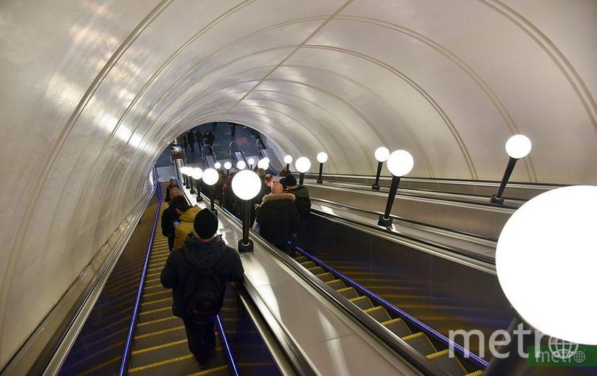 """Метро Москвы. Фото Василий Кузьмичёнок, """"Metro"""""""