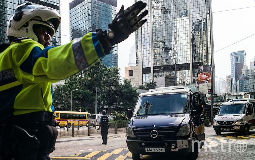 Полиция Китая. Фото Getty
