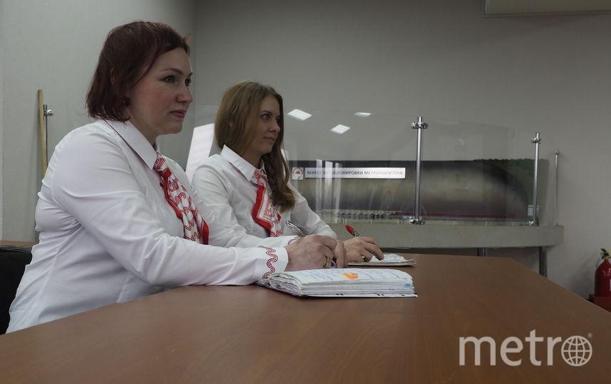 Кассиры Ольга и Ангелина на обучении. Фото Максим Рублёв