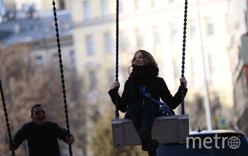 Весна в Москве. Фото РИА Новости