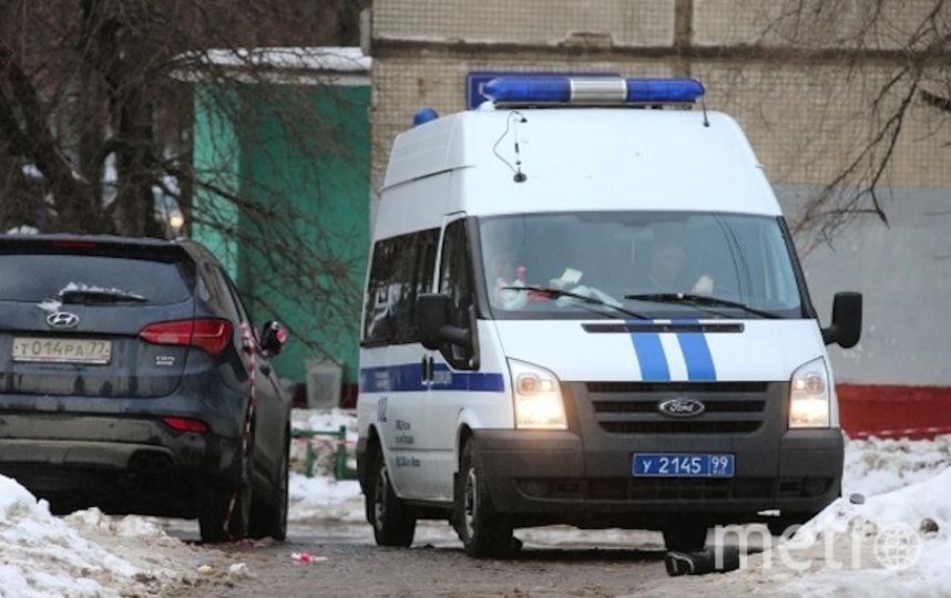 Полицейская машина в Москве. Фото РИА Новости