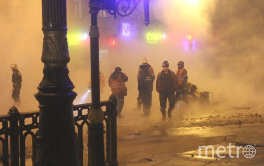 """В период проверки сетей возможны прорывы труб с горячей водой. Фото """"Metro"""""""