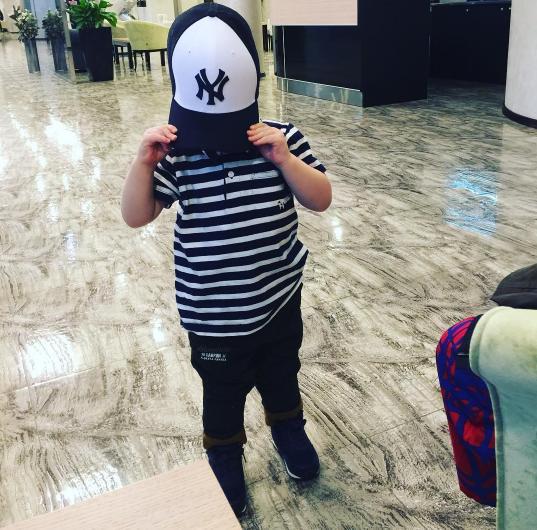 Сергей Лазарев обнародовал фото своего сына