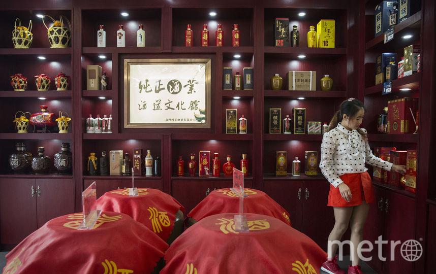 """Водка """"Маотай"""" – излюбленный подарок китайским чиновникам. Фото Getty"""