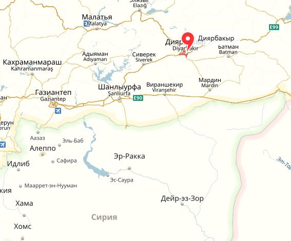Место происшествия. Фото yandex.ru/maps