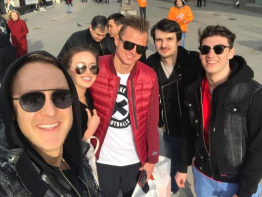 Бывший муж Ольги Бузовой Дмитрий Тарасов с друзьями. Фото Instagram Дмитрия Тарасова