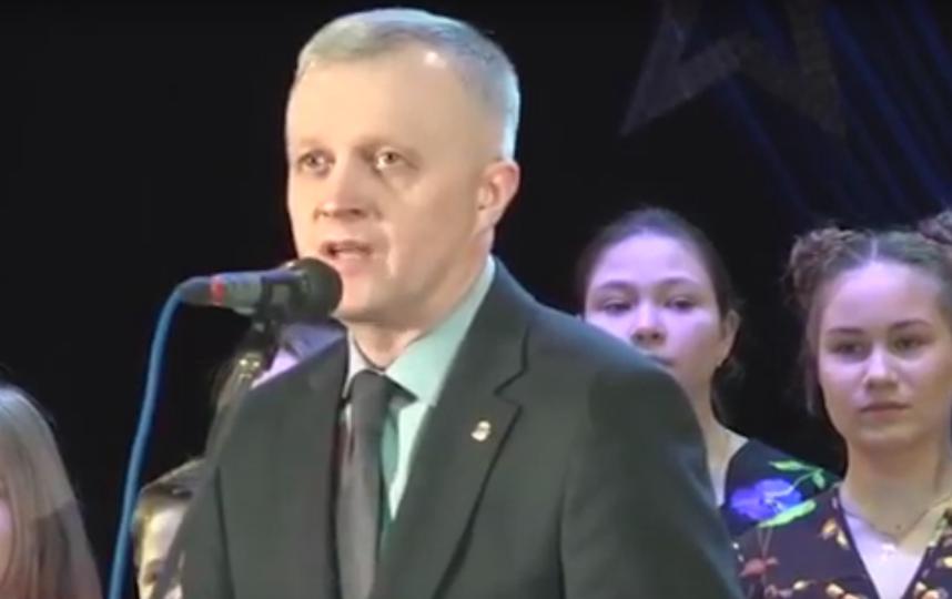 Выступление мэра Красноуфимска. Фото Скриншот Youtube