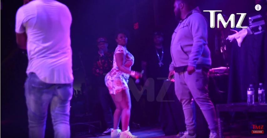 Рэпер 50 Cent ударил фанатку на своем концерте. Фото Скриншот Youtube