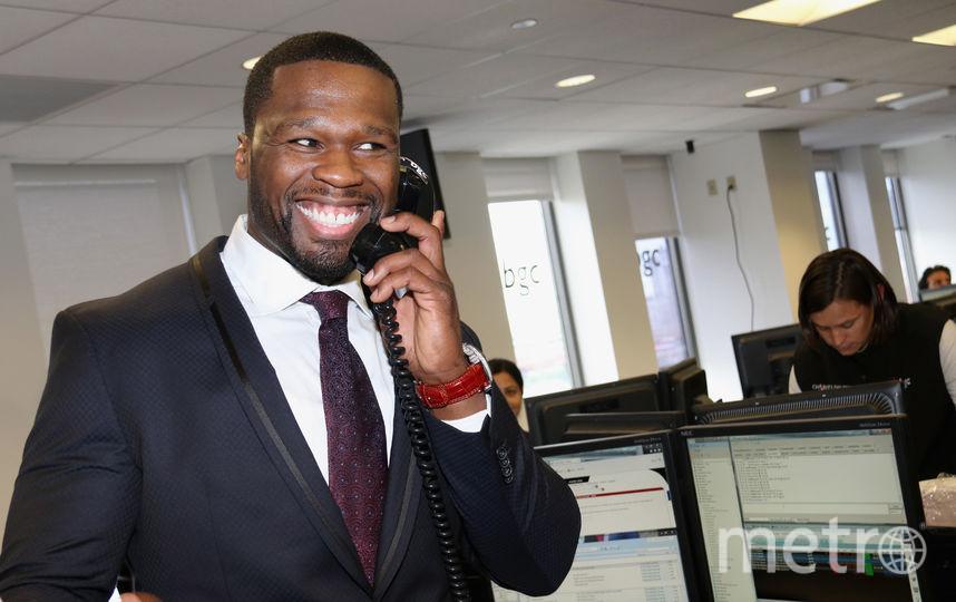 Рэпер 50 Cent ударил фанатку на своем концерте. Фото Getty