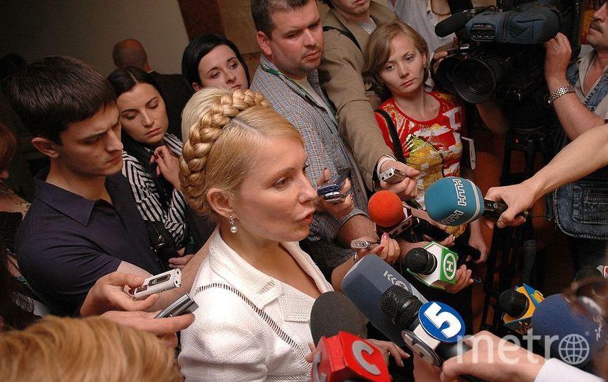 Юлия Тимошенко. Фото Wikipedia/Ingwar
