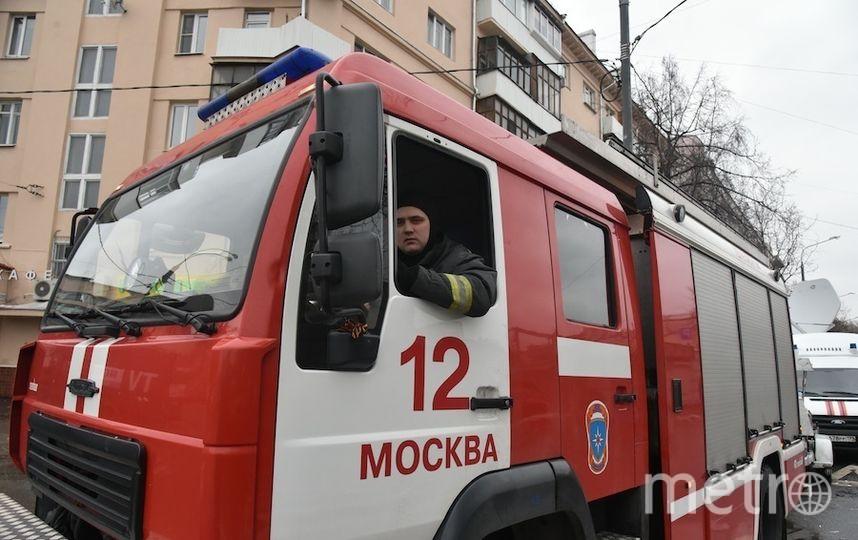 МЧС: черный дым врайоне аэропорта Внуково вызван горящей травой