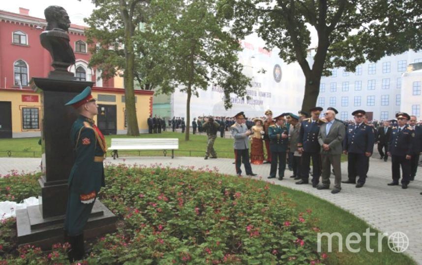 Кадетский корпус Следственного комитета открывается в Петербурге.