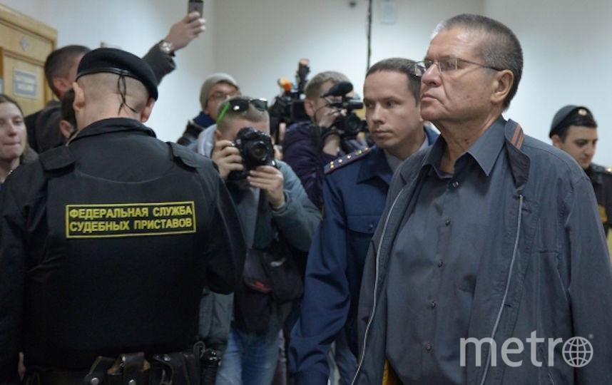 Улюкаев в Басманном суде. Фото РИА Новости