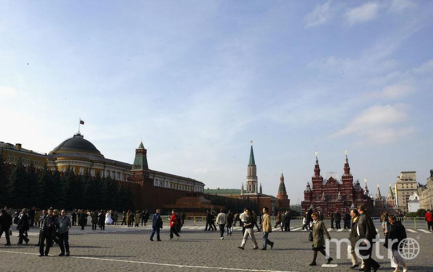 Красная площадь. Фото Getty
