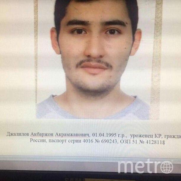 СМИ: Акбаржон Джалилов был пьян перед взрывом. Фото vk.com