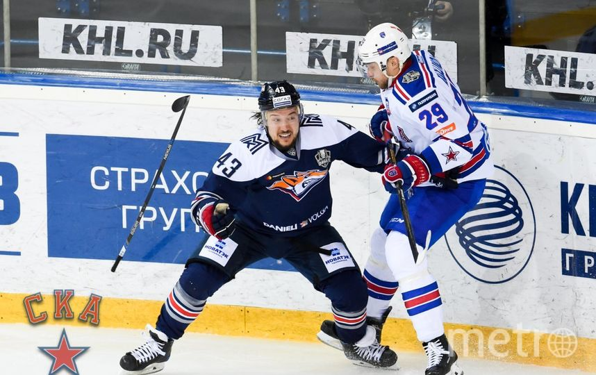 "Второй матч между СКА и ""Металлургом"". Фото www.ska.ru"