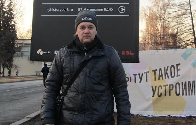 Читатель Константин Руднев. Фото Константин Руднев