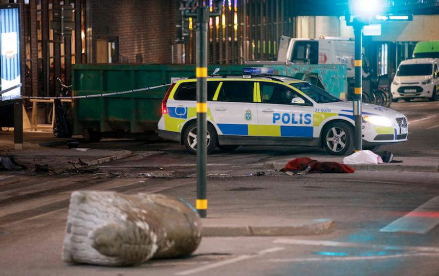От рук террориста из Узбекистана погибли 4 человека. Фото AFP