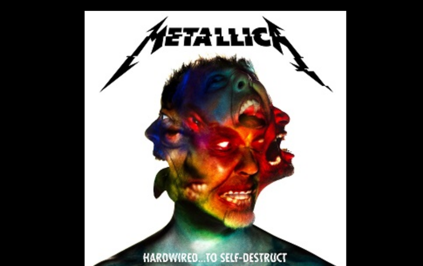 """Фото: обложка альбома Metallica, с которой сравнивают """"Памятник""""."""