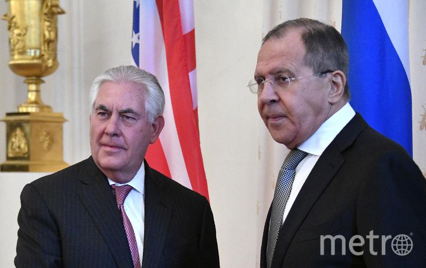 Лавров и Тиллерсон. Фото AFP