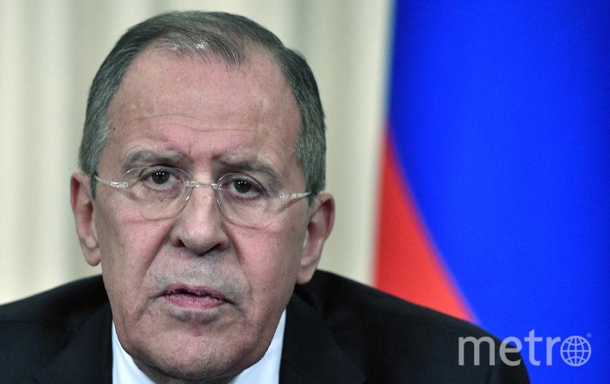 Сергей Лавров. Фото AFP