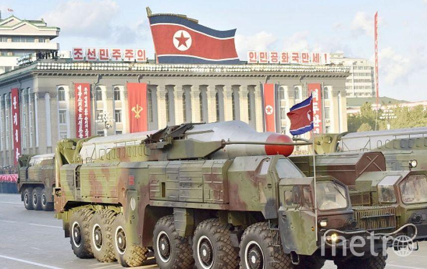 Военная техника КНДР. Фото Getty