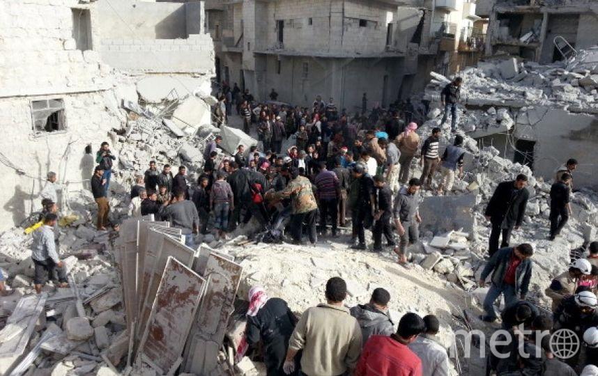 Разрушения в Алеппо. Фото Getty