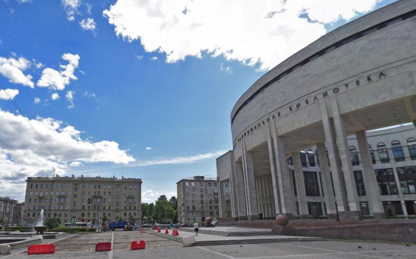 Вопрос объединения РНБ и РГБ снят. Фото Яндекс.Панорамы.