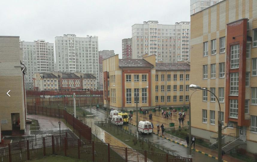 В подмосковном Подольске школьник во время урока распылил перцовый баллончик. Фото vk.com/podolsk_i_okrestnosti