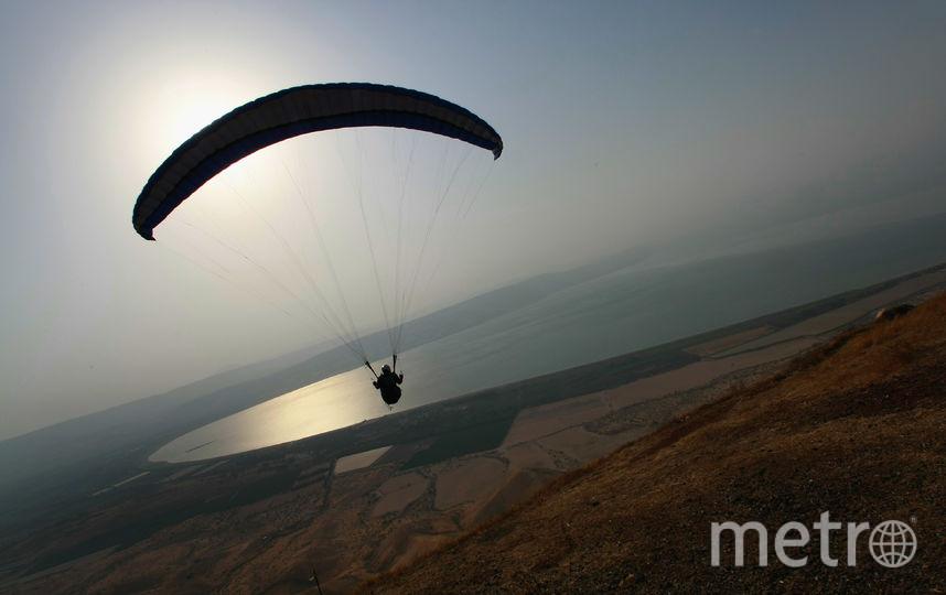 Прыжок с парашютом. Фото Getty