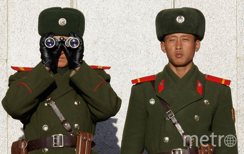 Военнослужащие КНДР. Фото Getty
