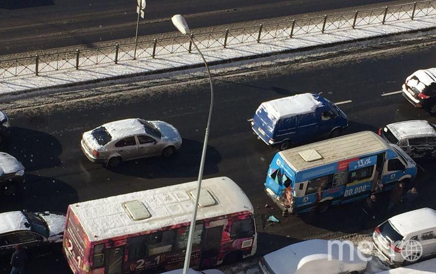 Три пассажира пострадали вДТП смаршрутками наДунайском
