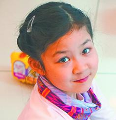 Полина, 10 лет. Фото предоставлено героями публикации