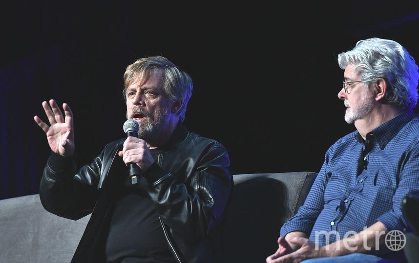 Марк Хэммил и Джордж Лукас. Фото Getty