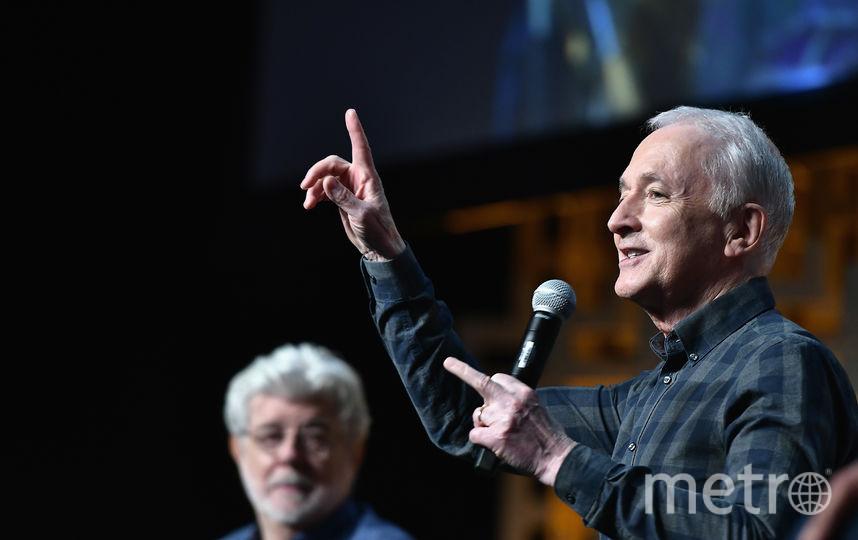Энтони Дэниелс (C-3PO). Фото Getty