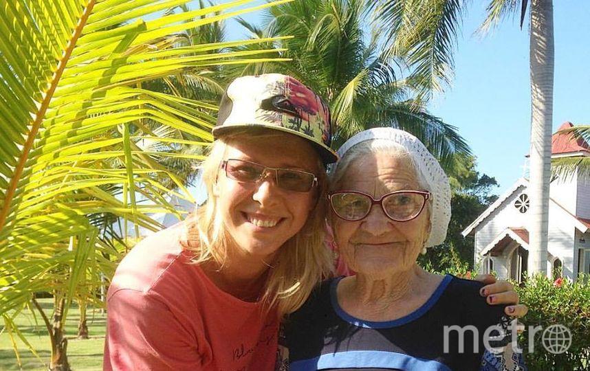 Баба Лена в Доминикане. Фото Анна Куманцова