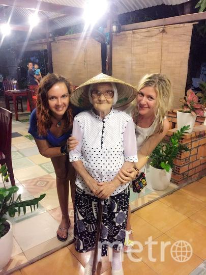 Баба Лена и Екатерина Папина (слева), Вьетнам. Фото Екатерина Папина