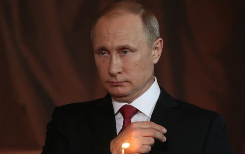 Путин поздравил православный мир с Пасхой. Фото Getty