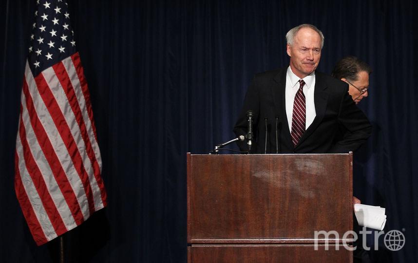 Губернатор штата Арканзас Аса Хатчинсон. Фото Getty
