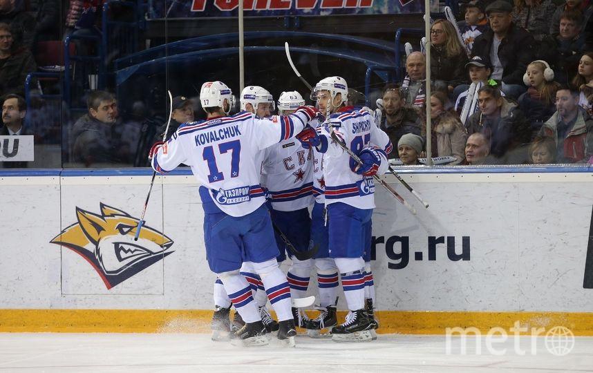 Армейцы из Петербурга победили в пяти матчах. Фото photo.khl.ru | Андрей Голованов